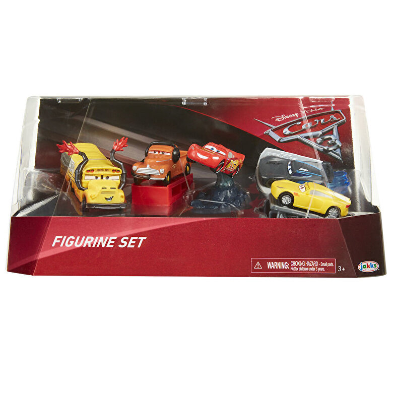Jakks Pacific - Cars 3 - Set figurine Masini -