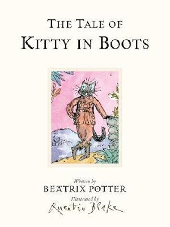 Beatrix Potter - Tale of Kitty In Boots, Hardcover -
