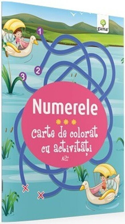 *** - Numerele. Carte de colorat cu activitati -