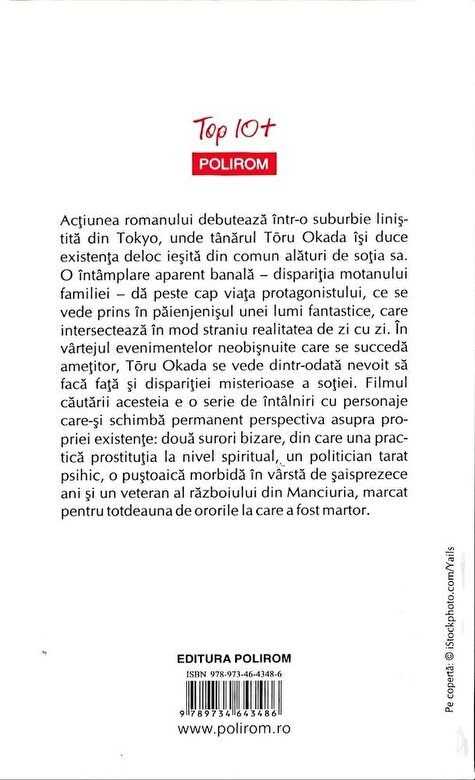 Haruki Murakami - Cronica pasarii-arc (Top 10+) -