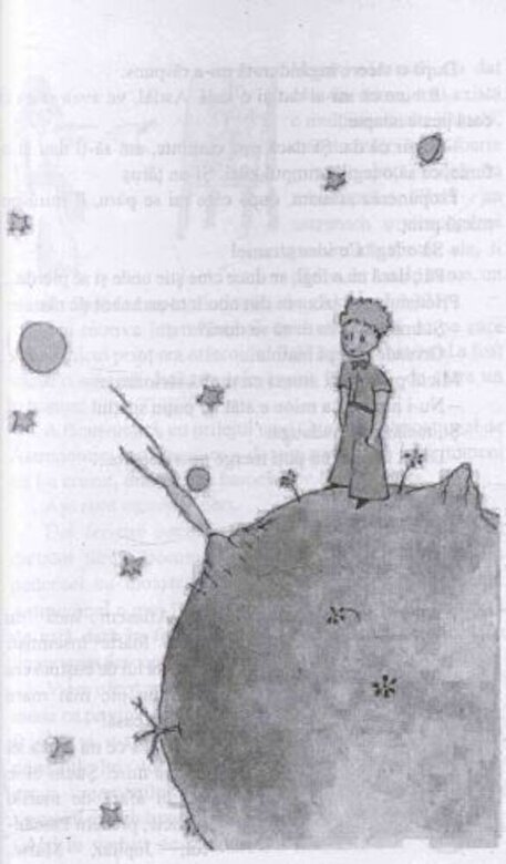 Antoine de Saint-Exupery - Micul Print - cu desenele autorului -