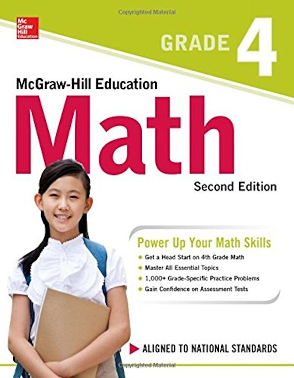 McGraw-Hill Education - McGraw-Hill Education Math Grade 4, Second Edition, Paperback -
