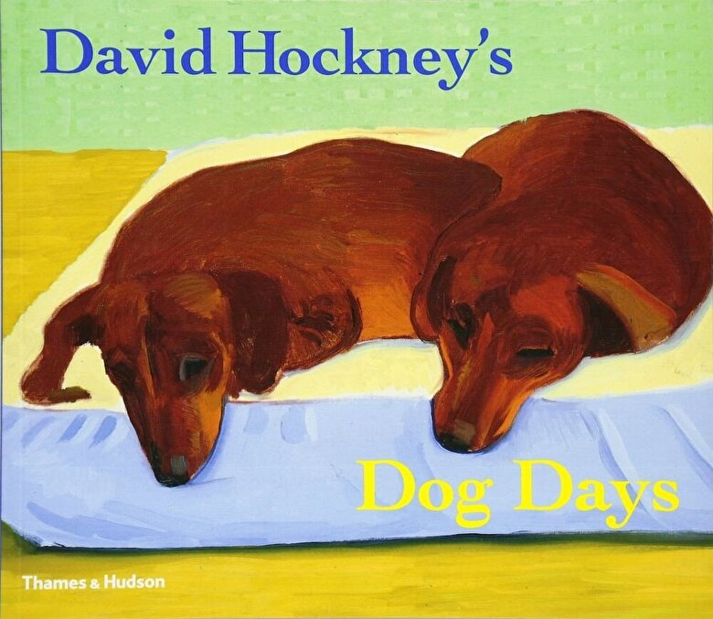 David Hockney - David Hockney's Dog Days, Paperback -