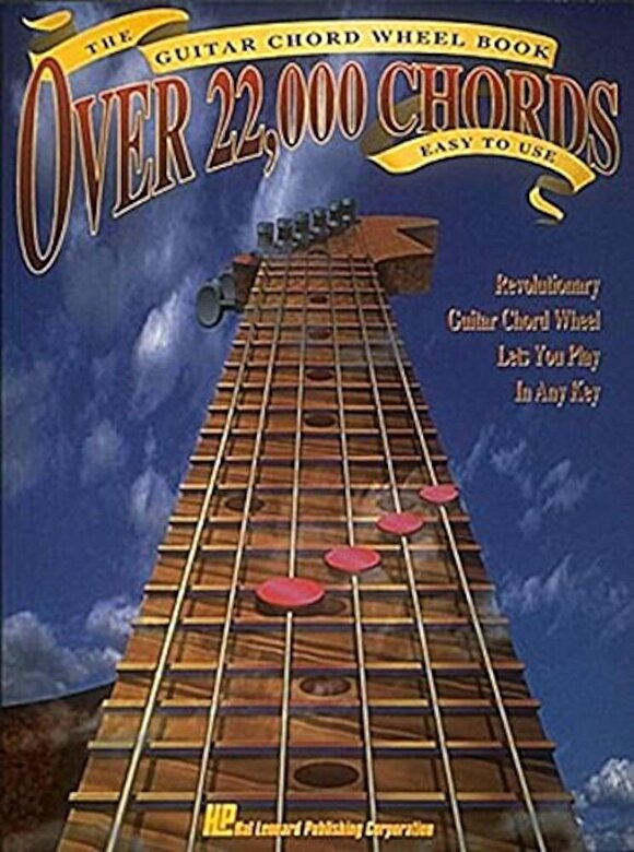 Hal Leonard Corp - The Guitar Chord Wheel Book: Over 22,000 Chords!, Paperback -
