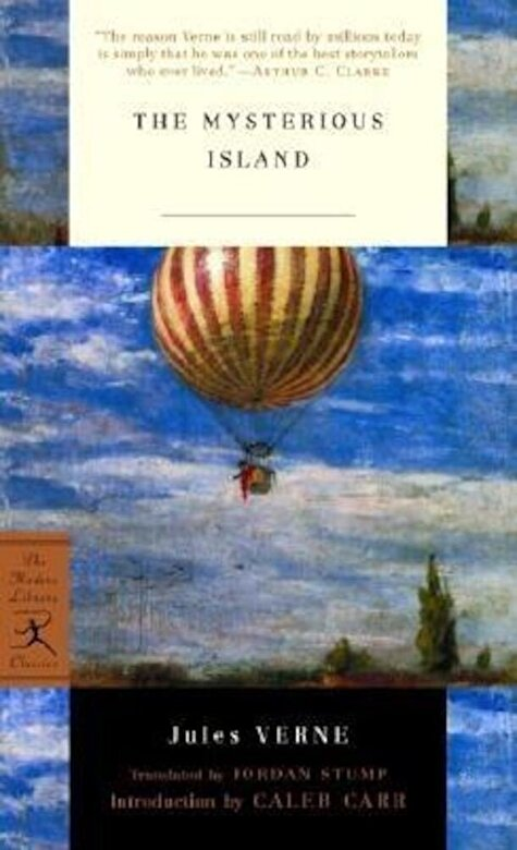 Jules Verne - The Mysterious Island, Paperback -