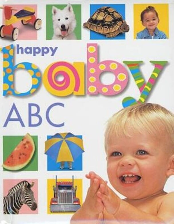 Roger Priddy - Happy Baby: ABC, Hardcover -