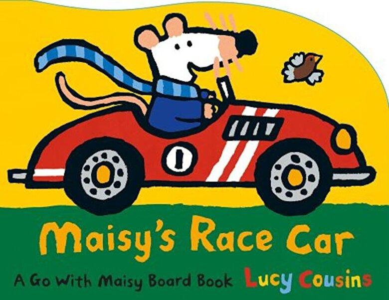 Lucy Cousins - Maisy's Race Car: A Go with Maisy Board Book, Hardcover -