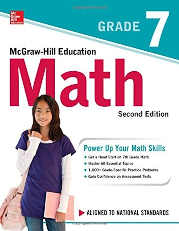 McGraw-Hill Education - McGraw-Hill Education Math Grade 7, Second Edition, Paperback -