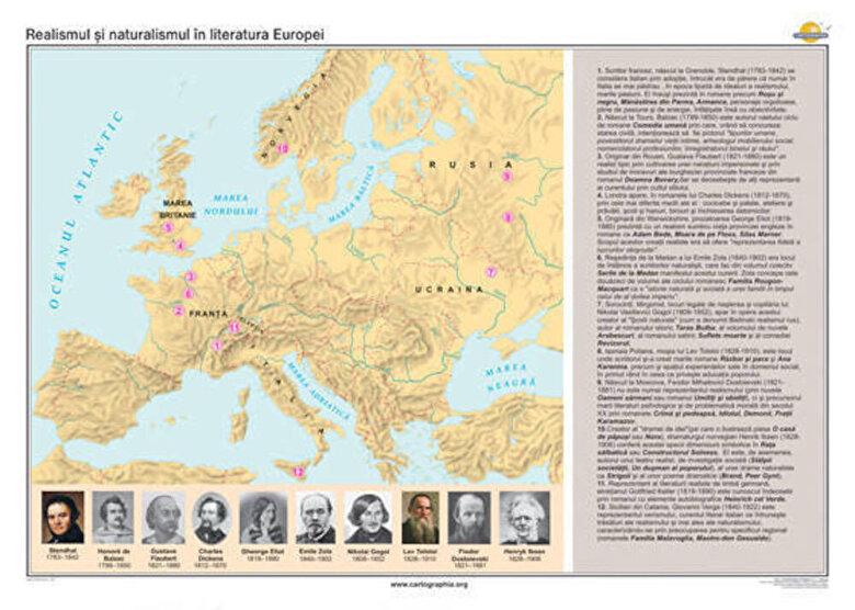 - Realismul si naturalismul in literatura Europei  -
