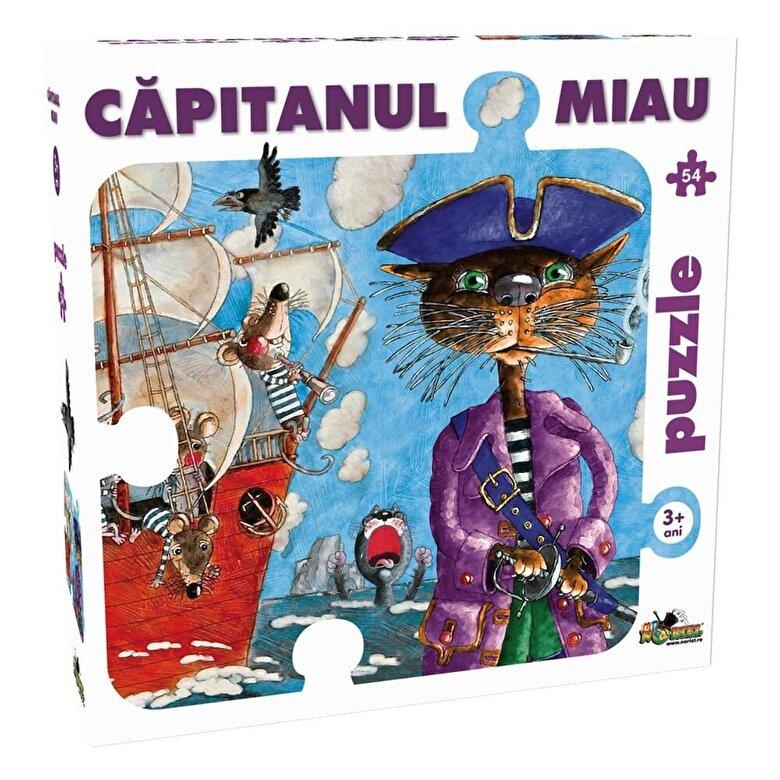 Noriel - Puzzle Capitanul Miau, 54 piese -