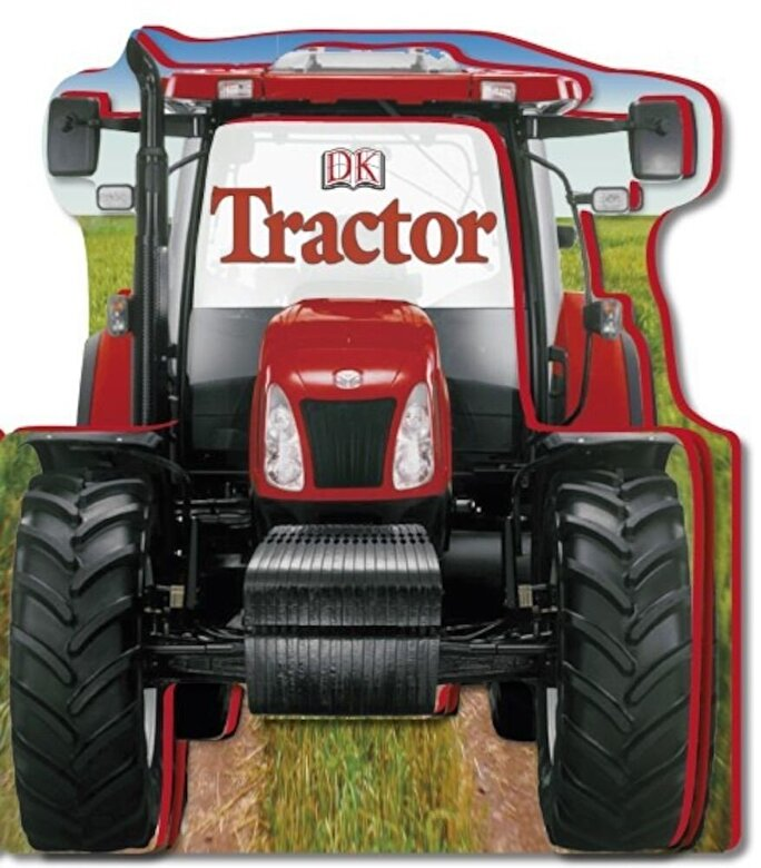 *** - Tractor Shaped Board Book -