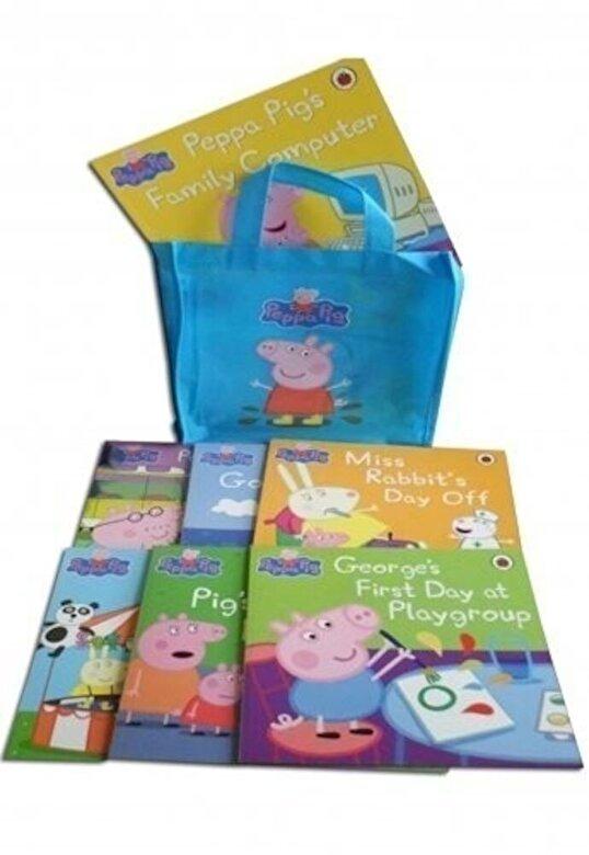 *** - Peppg Pig Story Books - set of 10 books (Free Gift Bag) -