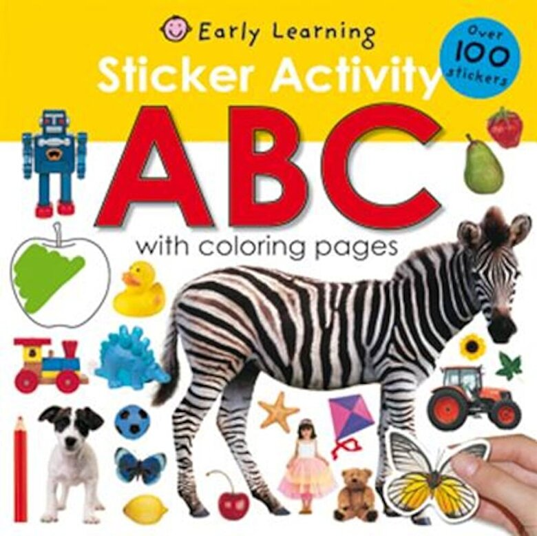 Roger Priddy - Sticker Activity: ABC [With Over 100 Stickers], Paperback -