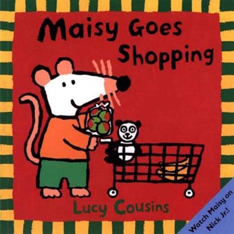 Lucy Cousins - Maisy Goes Shopping, Paperback -