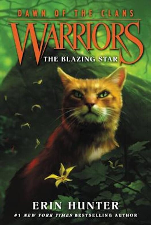 Erin Hunter - The Blazing Star, Paperback -
