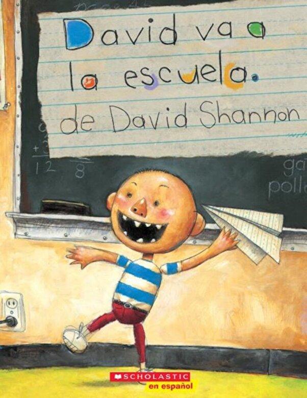 David Shannon - David Va a la Escuela, Paperback -