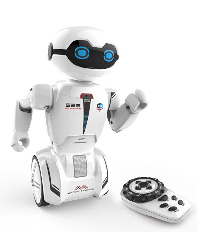 Silverlit - Robot cu telecomanda MacroBot, rosu -