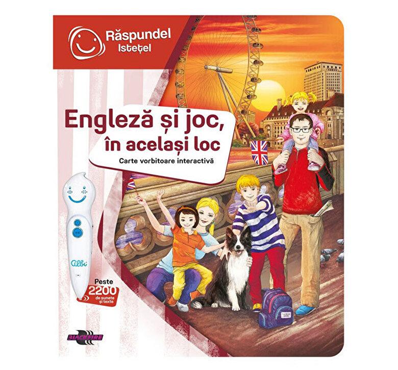 Raspundel Istetel - Pachet carte si creion - Engleza si joc, in acelasi loc -