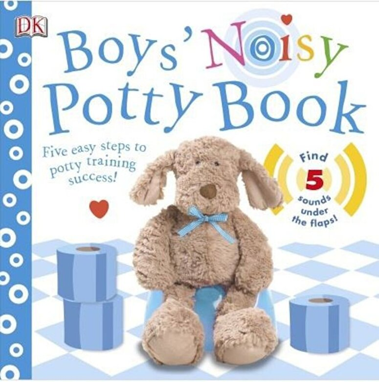 - Boys' Noisy Potty Book -