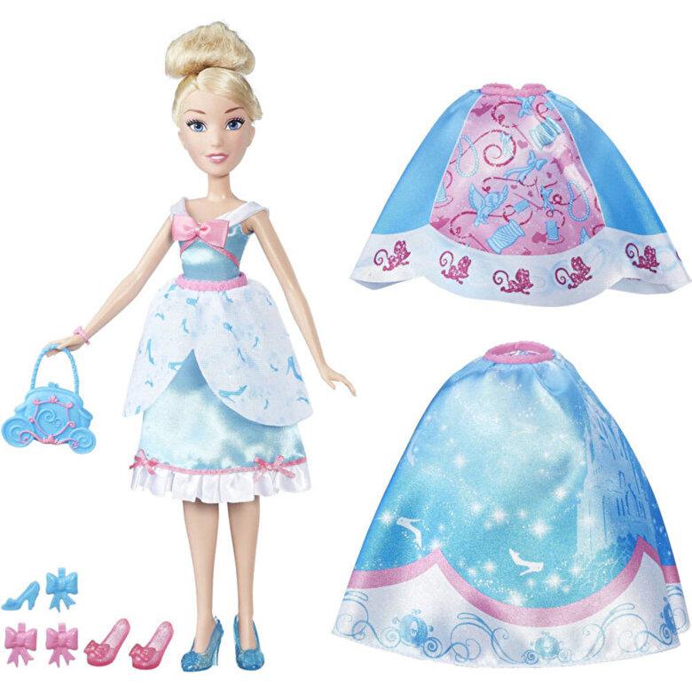 Disney - Disney Princess - Papusa Cenusareasa, cu rochita fashion -