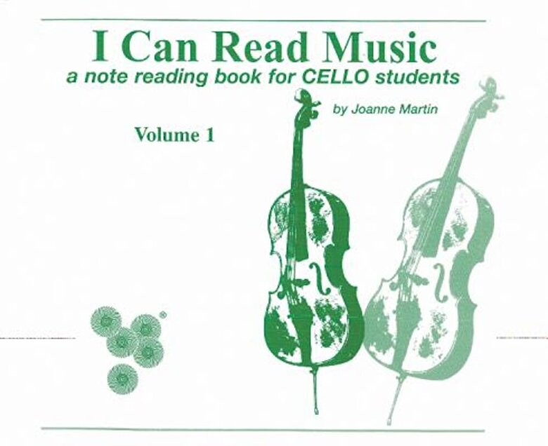 Martin, Joanne - I Can Read Music, Vol 1: A Note Reading Book for Cello Students, Paperback -