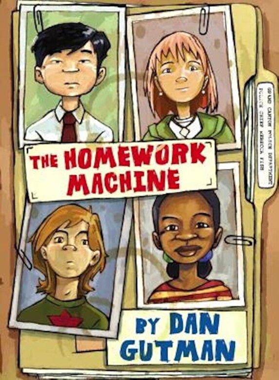 Dan Gutman - The Homework Machine, Hardcover -