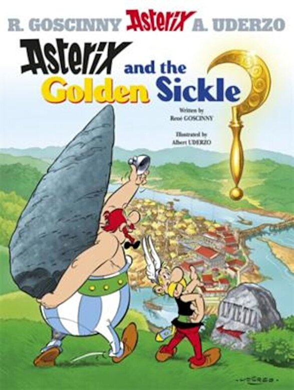 Rene Goscinny - Asterix and the Golden Sickle, Paperback -