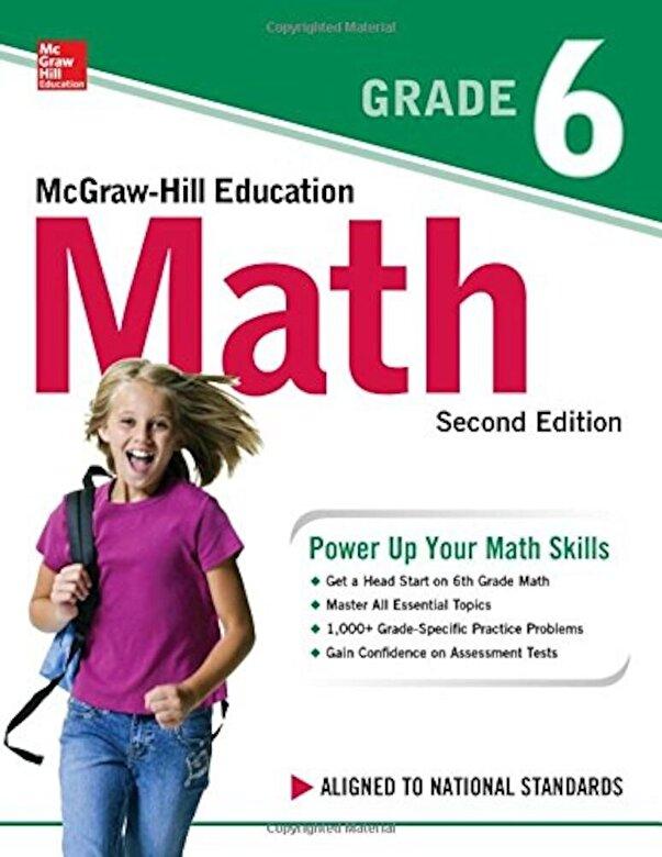 McGraw-Hill Education - McGraw-Hill Education Math Grade 6, Second Edition, Paperback -