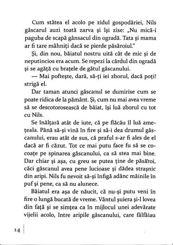 Selma Lagerlof - Minunata calatorie a lui Nils Holgersson prin Suedia -