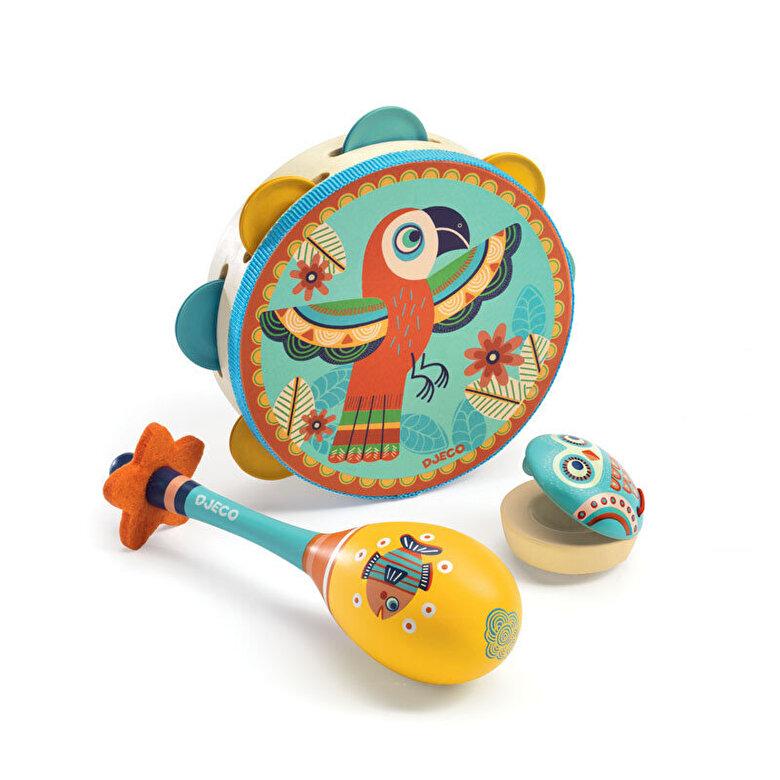 Djeco - Set Instrumente muzicale -