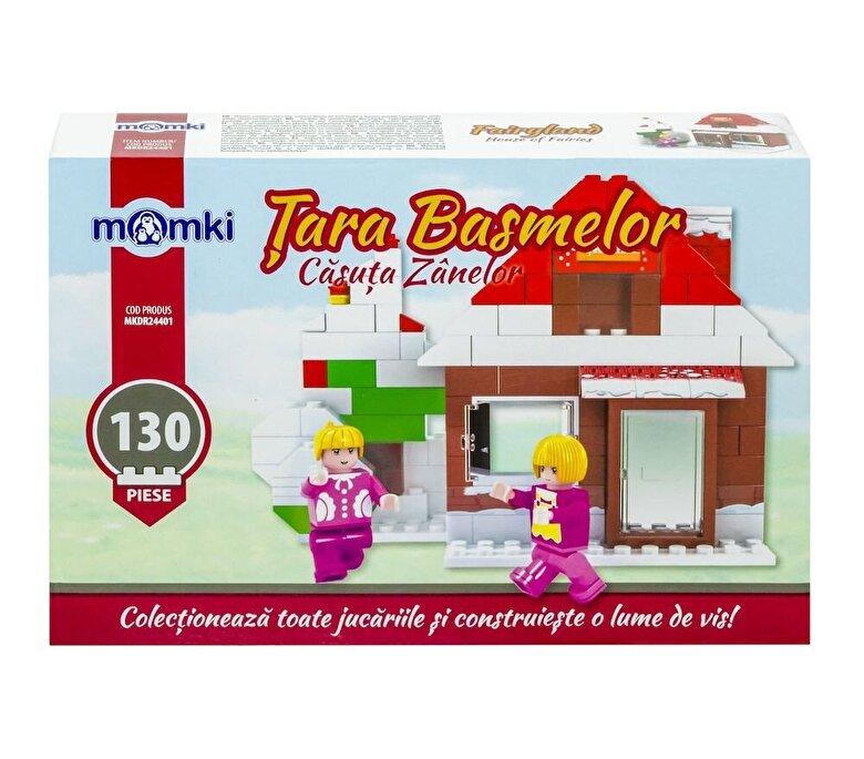 Momki - Momki - Tara basmelor, Casuta zanelor, 130 piese -