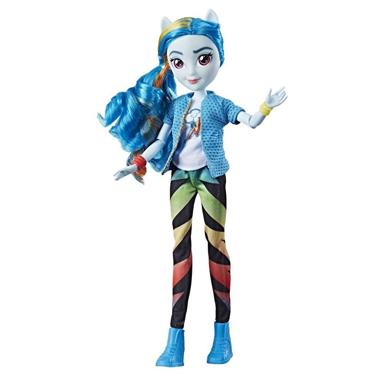 My Little Pony - My Little Pony, Equestria Girls - Papusa clasica Rainbow Dash -