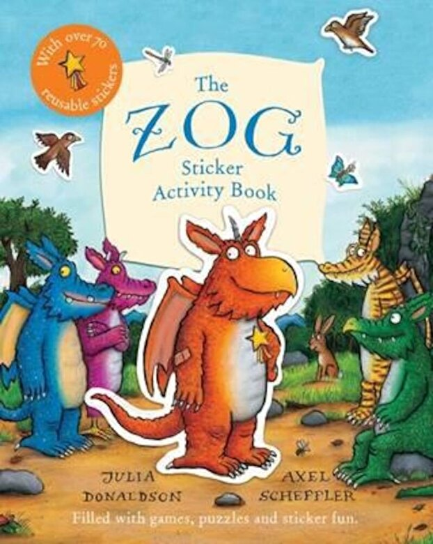 Julia Donaldson - Zog Sticker Activity Book, Paperback -
