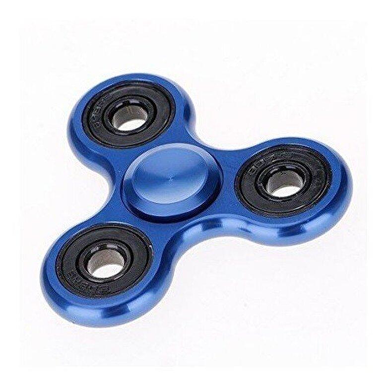 Whirlerz - Fidget Spinner metallic look, albastru -