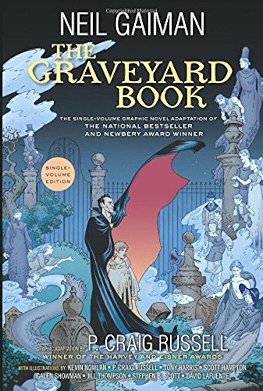 Neil Gaiman - The Graveyard Book Graphic Novel Single Volume, Paperback -