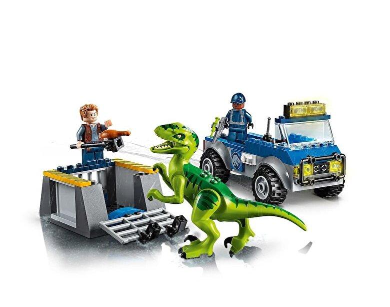 LEGO - LEGO Juniors - Jurassic World, Camionul de salvare al Raptorului 10757 -
