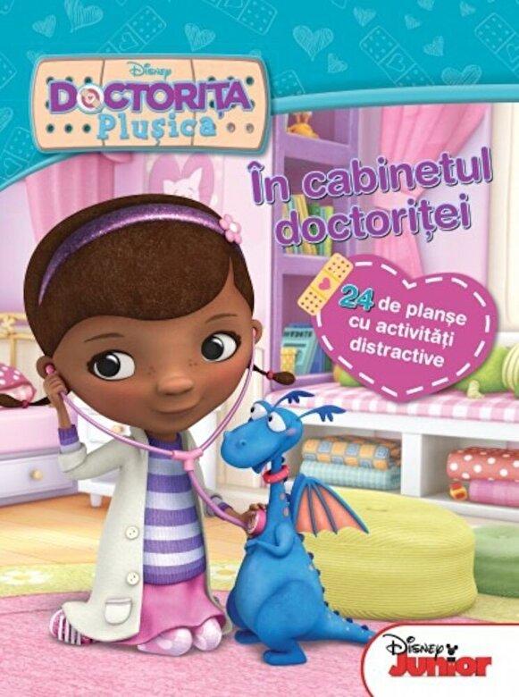 *** - Doctorita Plusica. In cabinetul doctoritei. 24 de planse cu activitati distractive -