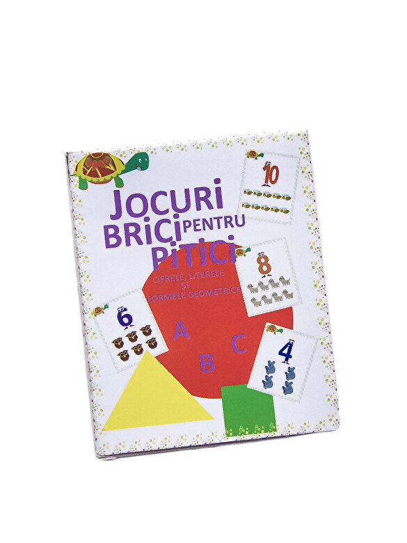 Megaparinti - Jocuri brici pentru pitici - Cifrele, literele si formele geometrice -