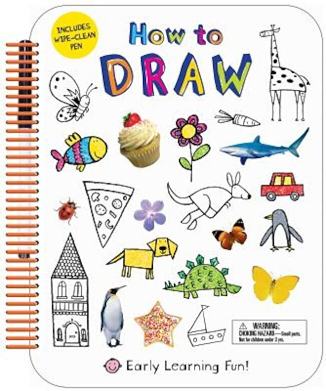 Roger Priddy - How to Draw: Includes Wipe-Clean Pen, Paperback -