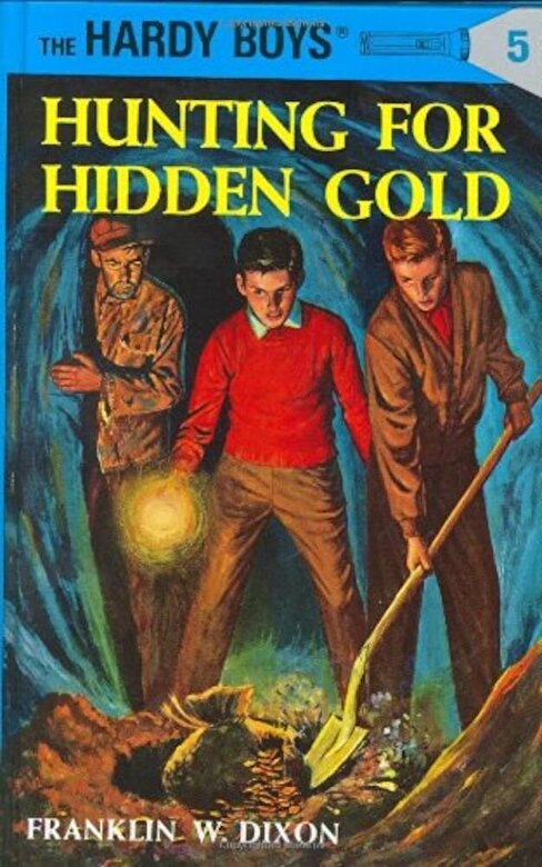Franklin W. Dixon - Hunting for Hidden Gold, Hardcover -