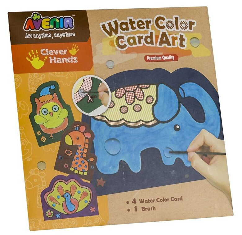 Momki - Set creativ Sa coloram cu apa -