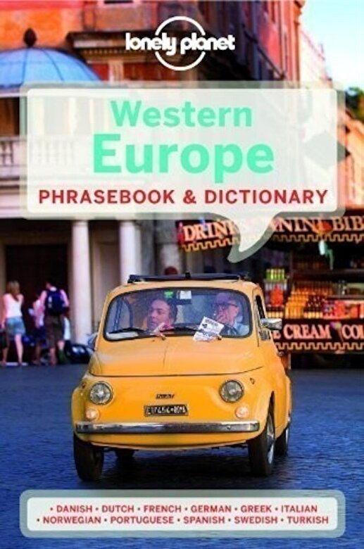 Lonely Planet - Lonely Planet Western Europe Phrasebook & Dictionary -