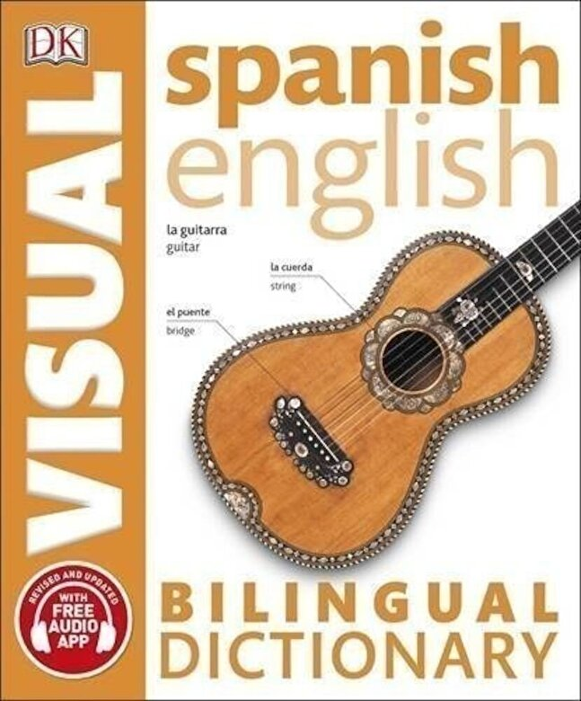 DK - Spanish English Bilingual Visual Dictionary (with audio) -