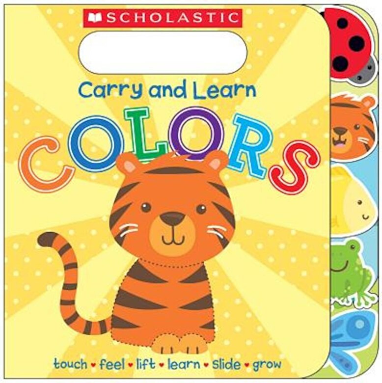 Various - Carry and Learn Colors, Hardcover -