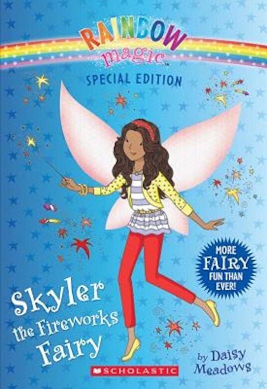Daisy Meadows - Skyler the Fireworks Fairy, Paperback -