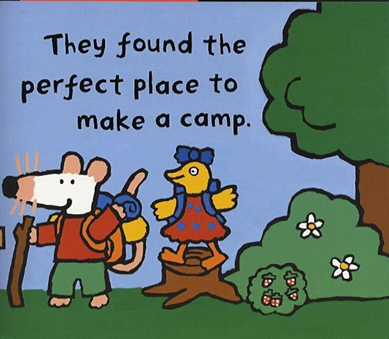 Lucy Cousins - Maisy Goes Camping, Paperback -