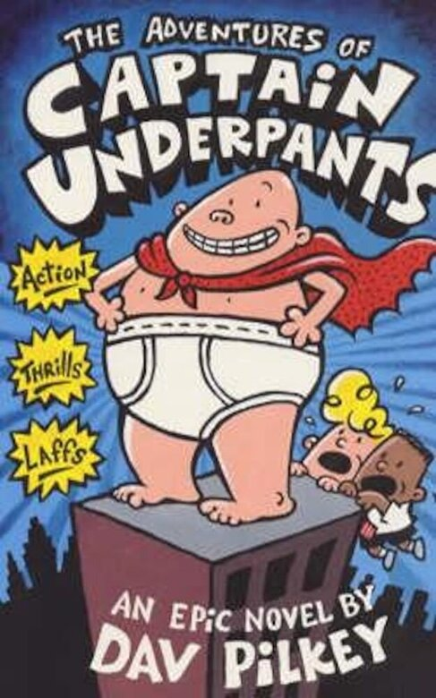 Dav Pilkey - Adventures of Captain Underpants, Paperback -