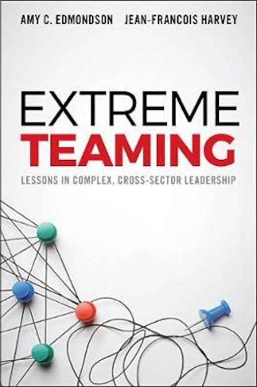 Amy C. Edmondson - Extreme Teaming: Lessons in Complex, Cross-Sector Leadership, Hardcover -
