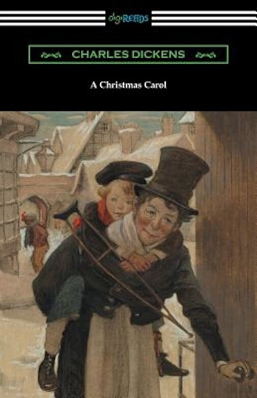 Charles Dickens - A Christmas Carol (Illustrated by Arthur Rackham with an Introduction by Hall Caine), Paperback -