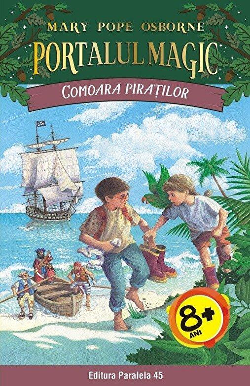 Mary Pope Osborne - Comoara piratilor. Portalul Magic nr. 4, ed. 2 -